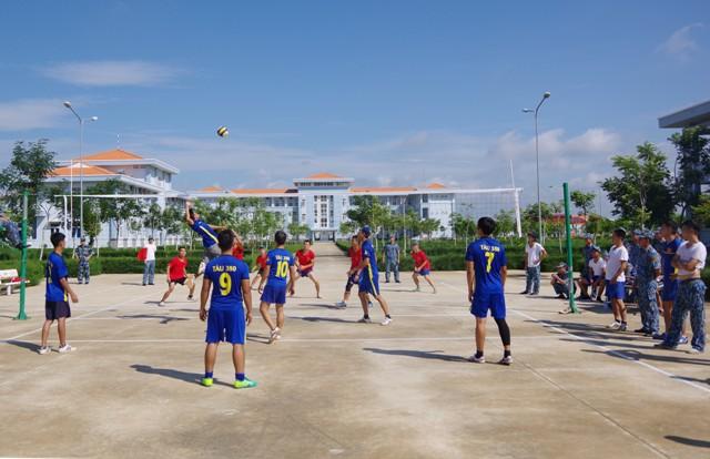 Khai mạc Hội thao thể dục thể thao năm 2019 Lữ đoàn 167, Vùng 2 Hải quân